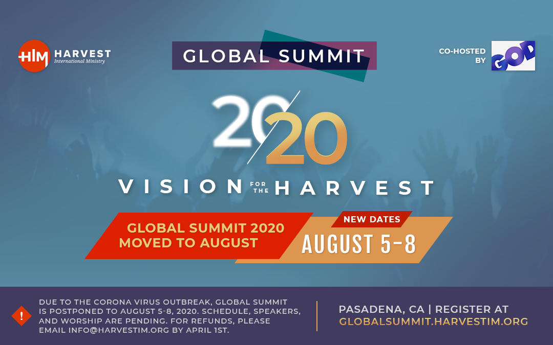 Global Summit 20/20 Event Graphic